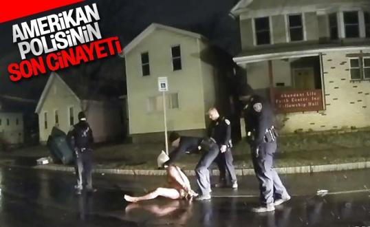 ABD'de infial yaratan görüntüler: Polis poşetle boğdu