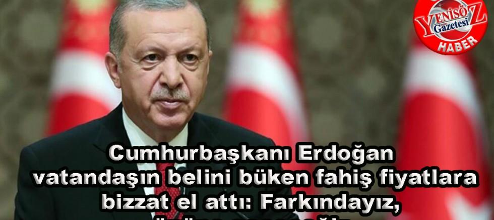 Cumhurbaşkanı Erdoğan, gıda fiyatlarına ilişkin önemli açıklamada bulundu