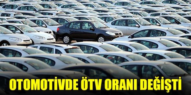 Otomobil alımında ÖTV oranı ve matrahı değişti